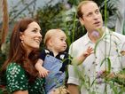 Prince George makes a butterfly friend in cute 1st birthday pictures