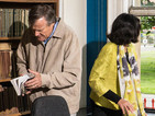 POTD: Coronation Street's Roy, Yasmeen in library protest