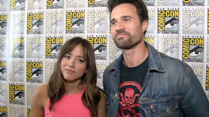 Agents of SHIELD at Comic-Con 2014
