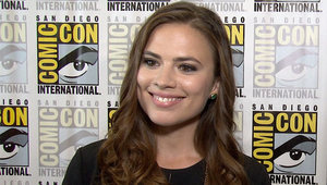 Digital Spy chats to 'Agent Carter' star Hayley Atwell about the 'Captain America' spin-off show.