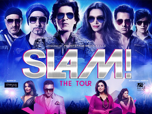 Slam! The Tour poster
