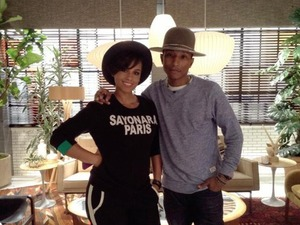 Alicia Keys and Pharrell Williams on The Voice