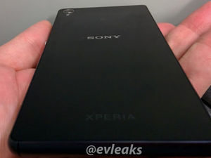 Leaked image of the Sony Xperia Z3