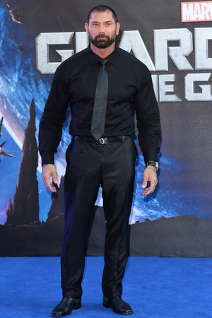 LONDON, ENGLAND - JULY 24: David Bautista attends the European Premiere of 'Guardians of the Galaxy' at Empire Leicester Square on July 24, 2014 in London, England. (Photo by Karwai Tang/WireImage)