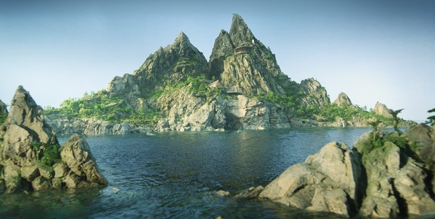 Tracy Island, Thunderbirds