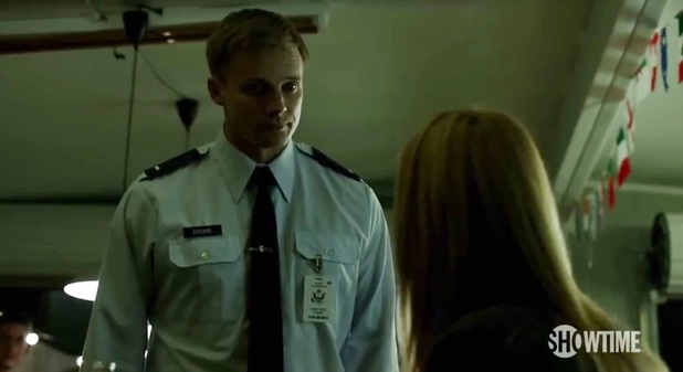 Bradley James in Homeland