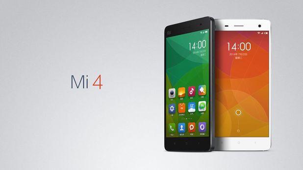 Xiaomi's Mi 4 smartphone