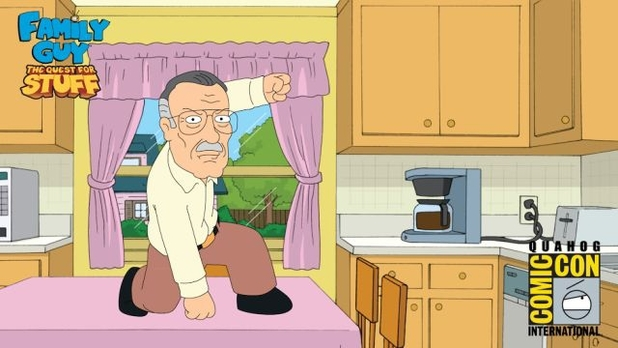 Stan Lee in Family Guy: The Quest For Stuff