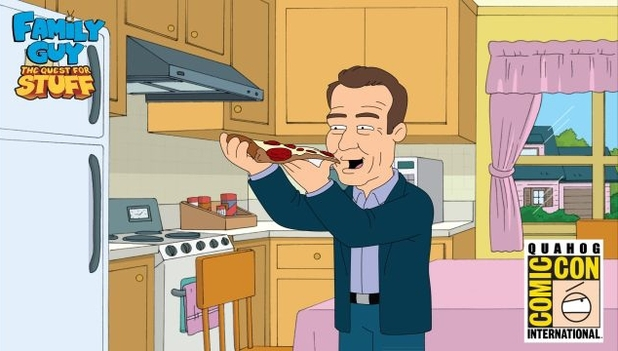Bryan Cranston in Family Guy: The Quest For Stuff