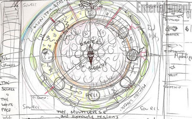 Grant Morrison DC Multiverse sketch