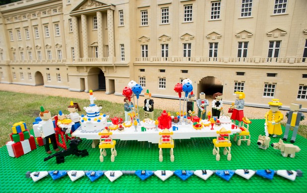 Prince George's first birthday party at Legoland Windsor