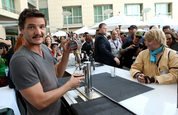 Pedro Pascal attends day 1 of the WIRED Cafe @ Comic Con