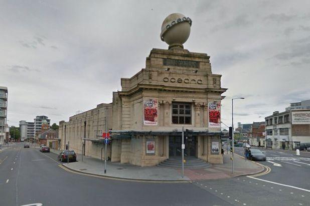 The Oceana nightclub in Nottingham