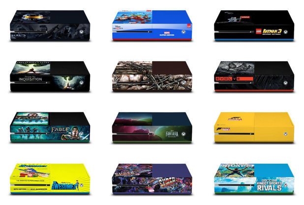 Limited edition Xbox One designs are coming to Comic-Con