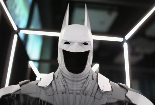 Batman 75th Anniversary And 'Batman: Arkham Knight' Unveil 'Cape/Cowl/Create' Art Exhibit At Comic-Con