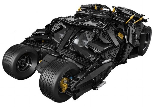 The LEGO Batmobile