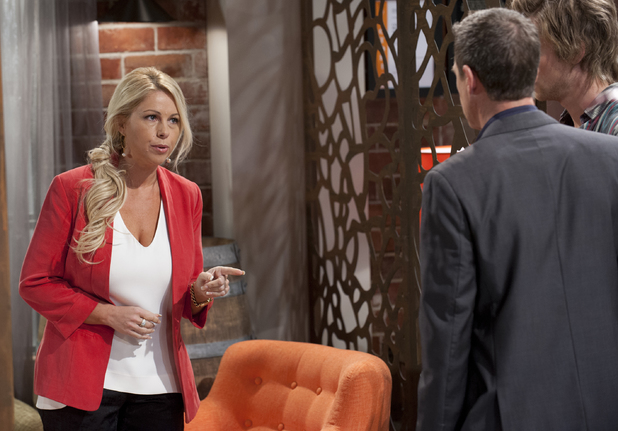 Lucy clashes with Paul