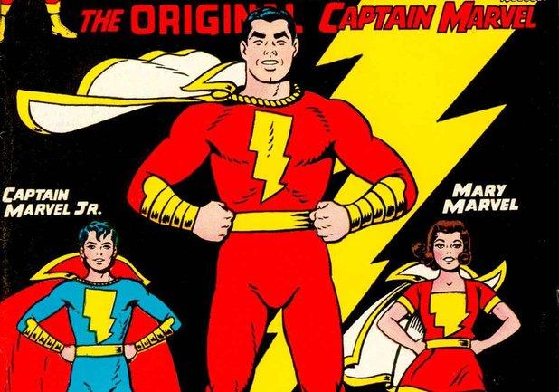 The Captain Marvel family