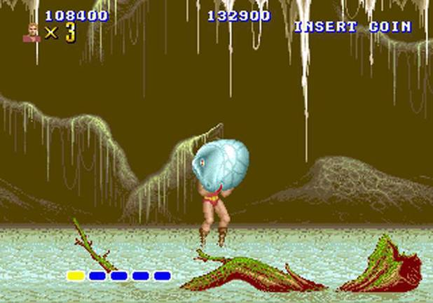 Altered Beast for Sega Arcade and Mega Drive