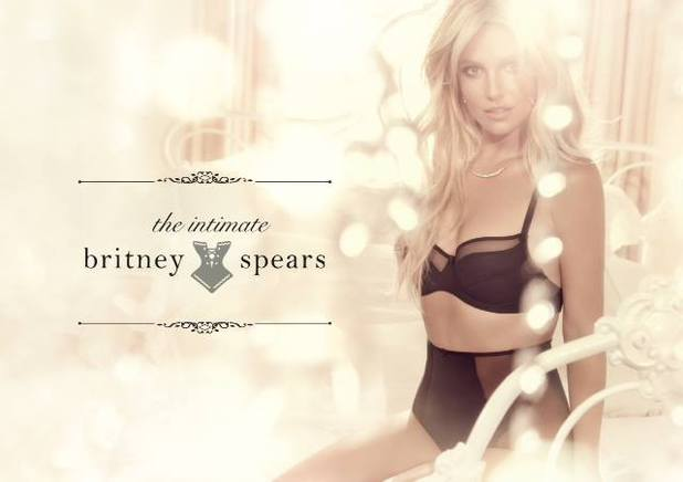 The Intimate Britney Spears underwear range