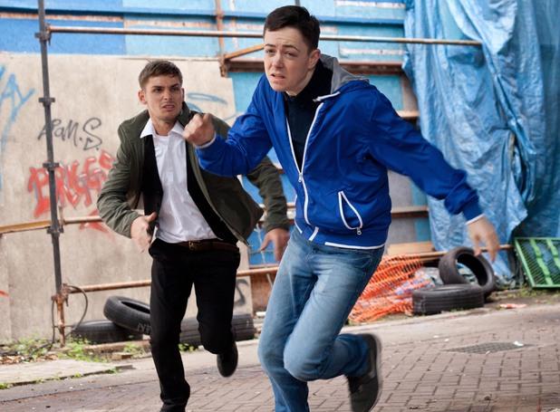 Ste chases Finn