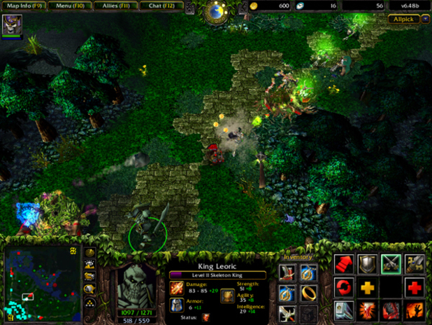 How DOTA 2 would look on the PSOne
