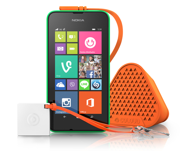 The Nokia Lumia 530 budget smartphone