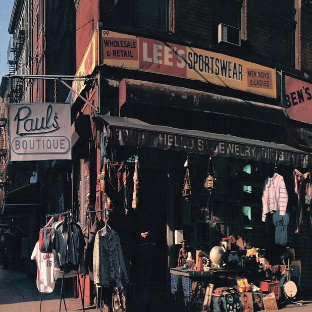 Beastie Boys Paul's Boutique album artwork