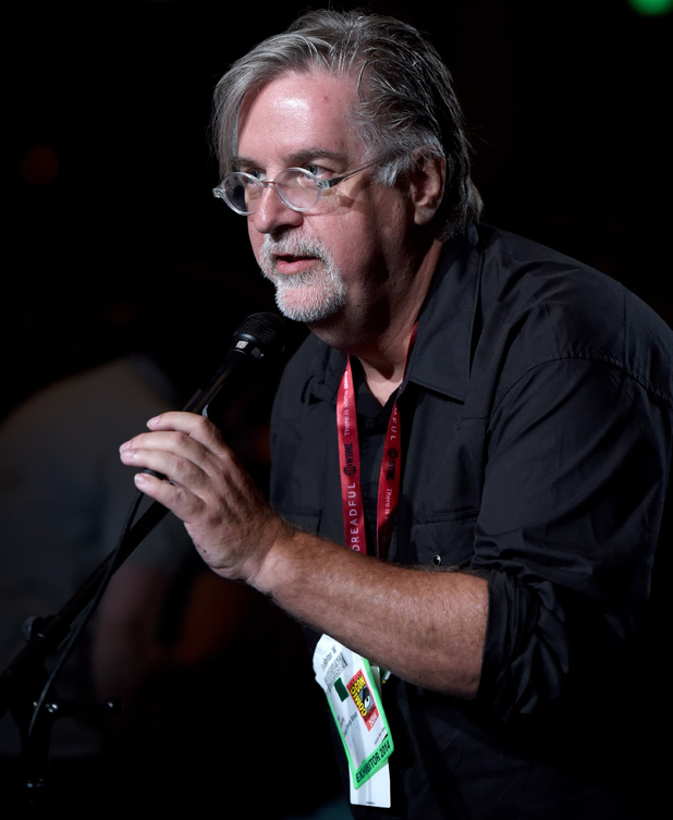Writer/producer Matt Groening attends FOX's 'Family Guy' panel during Comic-Con