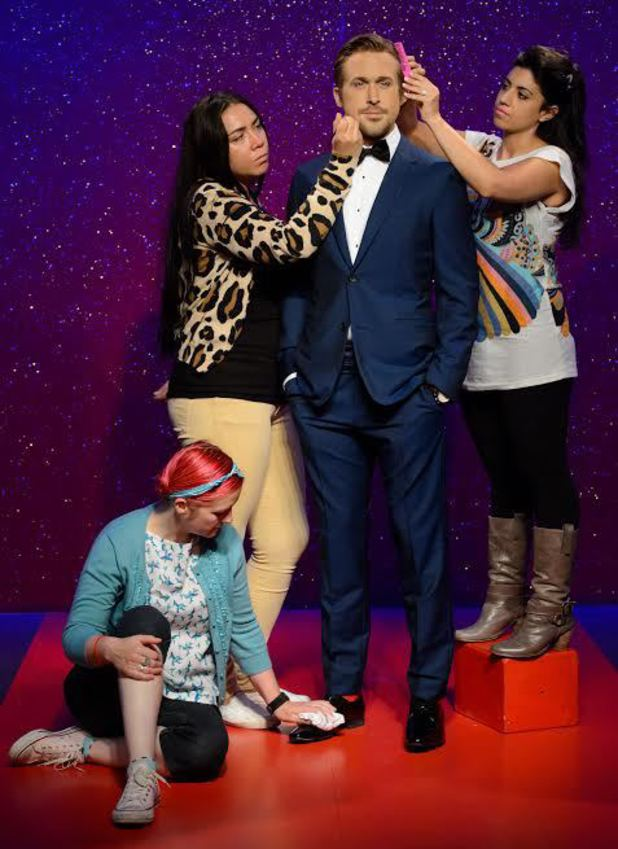 Ryan Gosling's Madame Tussauds waxwork