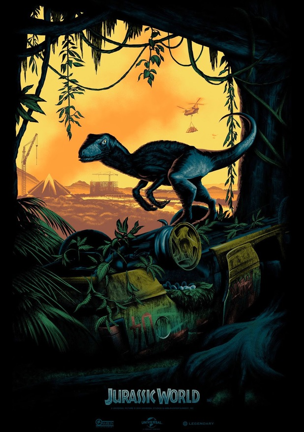 Mark Englert's first Jurassic World poster