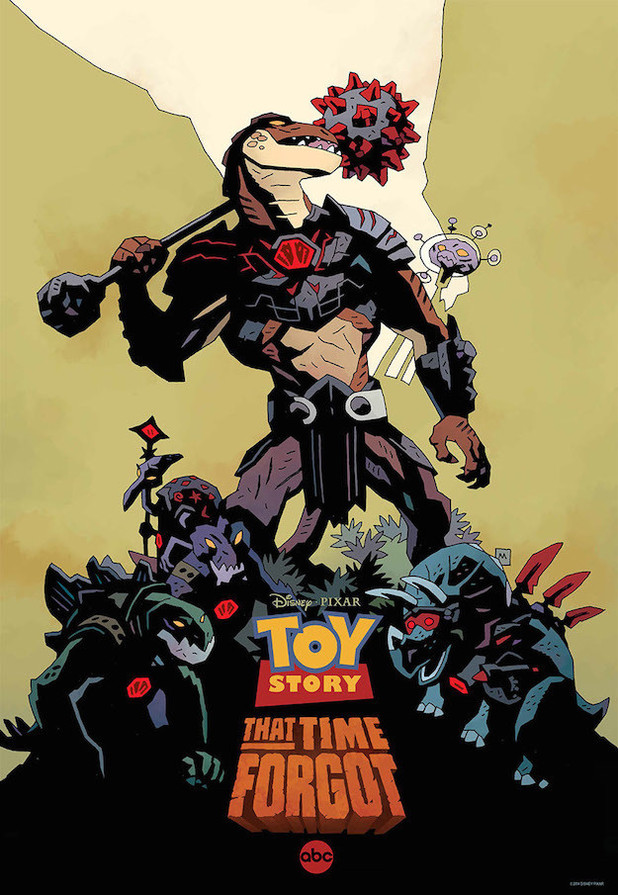 Mike Mignola's Toy Story That Time Forgot poster
