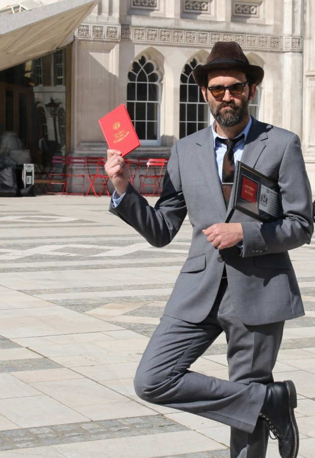 EELS frontman Mark Oliver Everett was awarded with the Freedom of the City of London