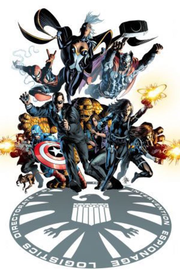 Agents of Shield Cover Agents of Shield Comic