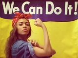 Beyoncé recreates iconic World War II 'Rosie the Riveter' poster pose
