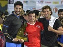 Aamir Khan and Abhishek Bachchan were captains of the celebrity teams.