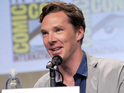 Benedict Cumberbatch attends the DreamWorks Animation presentation during Comic-Con International 2014