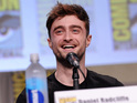 The actor makes his debut at San Diego Comic-Con to promote Horns.