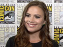 Hayley Atwell at Comic-Con 2014