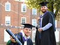 Rudimental members receive honorary degrees from Leeds Metropolitan