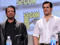 Zack Snyder shows first footage from Batman v Superman: Dawn of Justice.