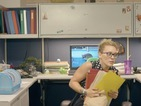 Watch Hilary Duff as bored office worker in new 'Chasing The Sun' video