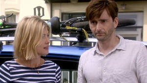 Doug (David Tennant) and Abi (Rosamund Pike) and their three children travel to the Scottish Highlands for Doug's father Gordie's (Billy Connolly) birthday party.