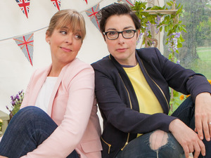 The Great British Bake Off 2014: Sue Perkins and Mel Giedroyc