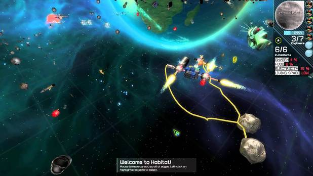 Habitat: A Thousand Generations in Orbit screenshot