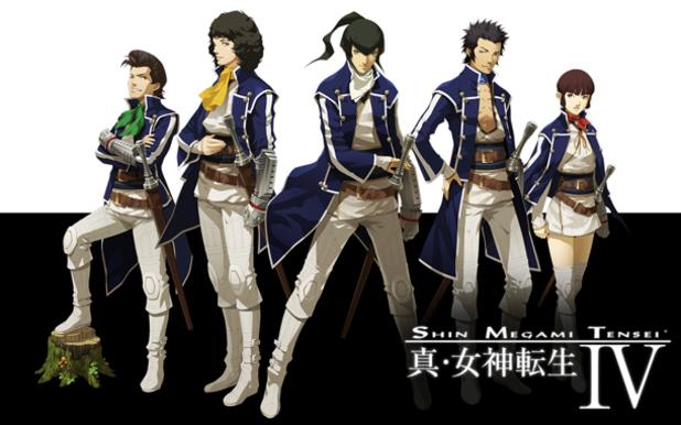 Shin Megami Tensei IV artwork