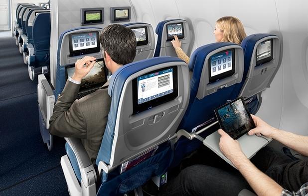 Delta in-flight entertainment