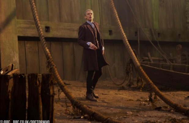 Peter Capaldi in Doctor Who premiere 'Deep Breath'
