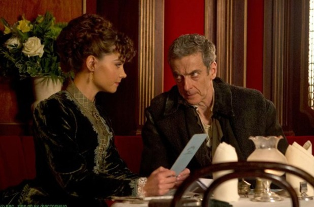 Peter Capaldi, Jenna Coleman in Doctor Who's 'Deep Breath'