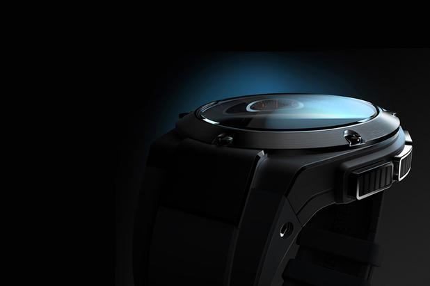 Teaser image for HP's luxury smartwatch
